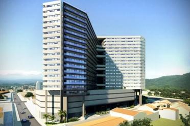 Venda salas comerciais Valongo Brasil Santos
