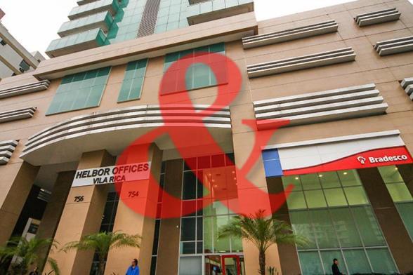 Locação Sala Comercial Helbor Offices Santos