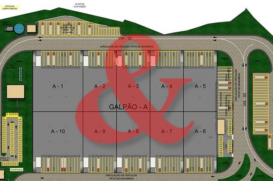 Galpão logístico alugar Aratu Bahia
