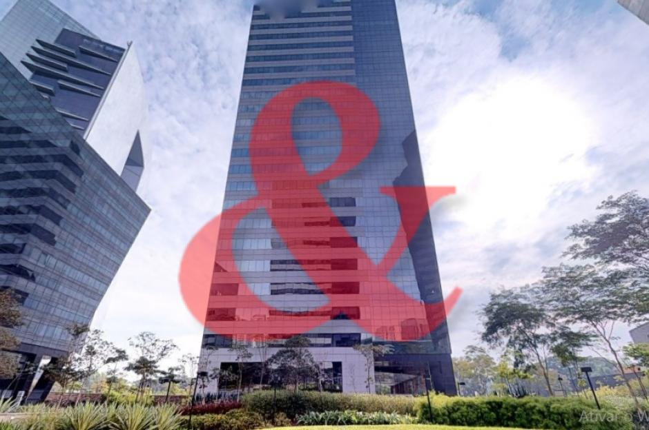 Locação laje corporativa Edificio Rochaverá Morumbi São Paulo