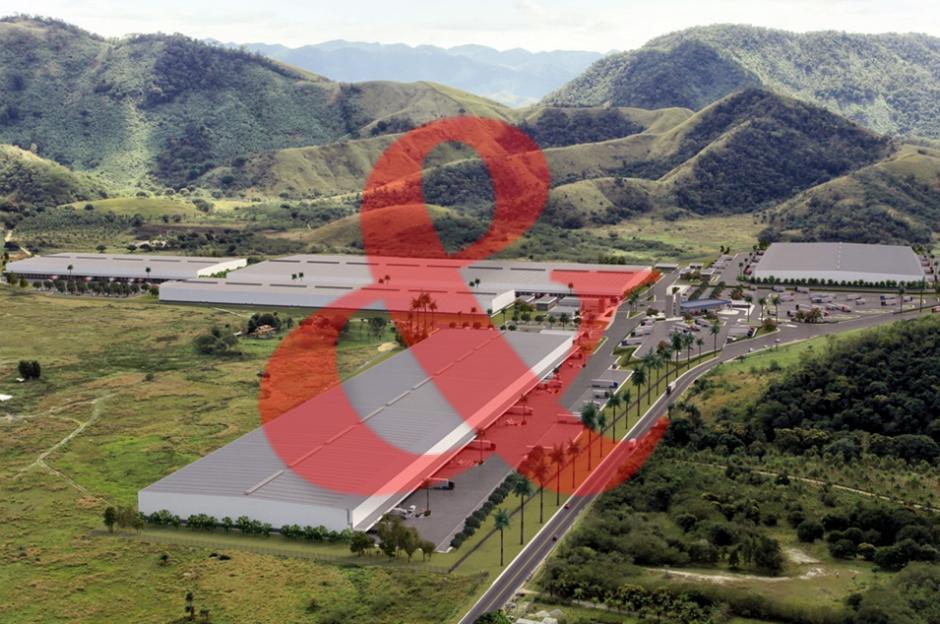 Locação galpão industrial Seropédica Rio de Janeiro