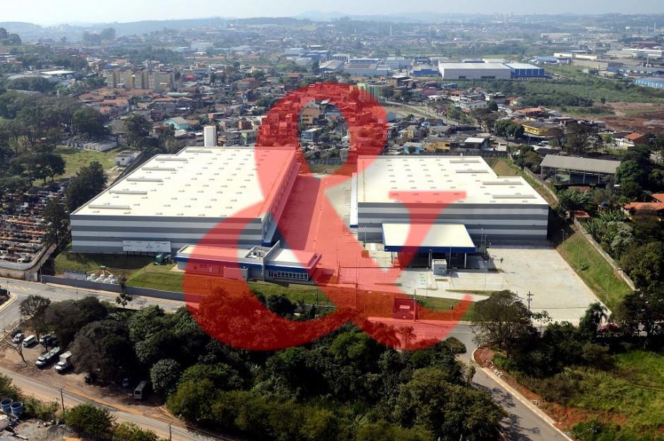 Galpão logístico industrial alugar SP Guarulhos