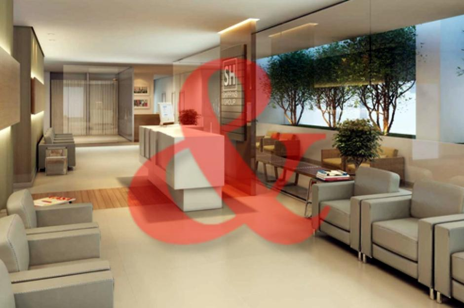 Venda sala comercial Praiamar Corporate Santos